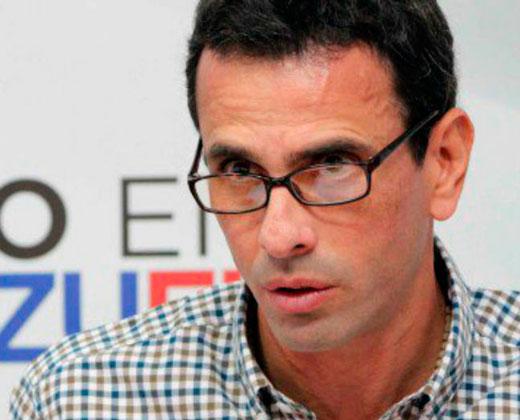 Capriles se adelanta a supuesto show del gobierno en Villa Rosa