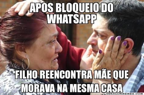 Imagens de zuera bloqueio do WhatsApp