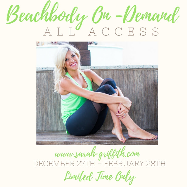 beachbody on demand, beachbody on demand all access, what is beachbody on demand all access, how to get on demand all access, sarah griffith, top beachbody coach,