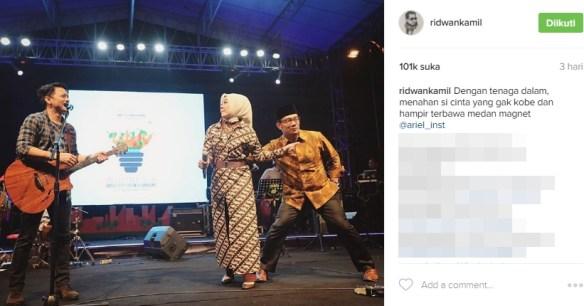 Lima Pejabat Indonesia Ini Suka Pamer Keromantisan Cinta di Media Sosial