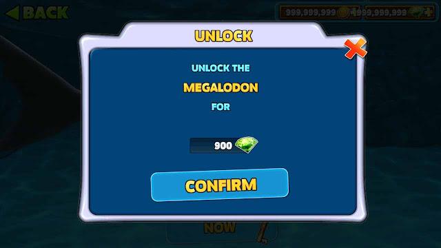 cara membuka megalodon