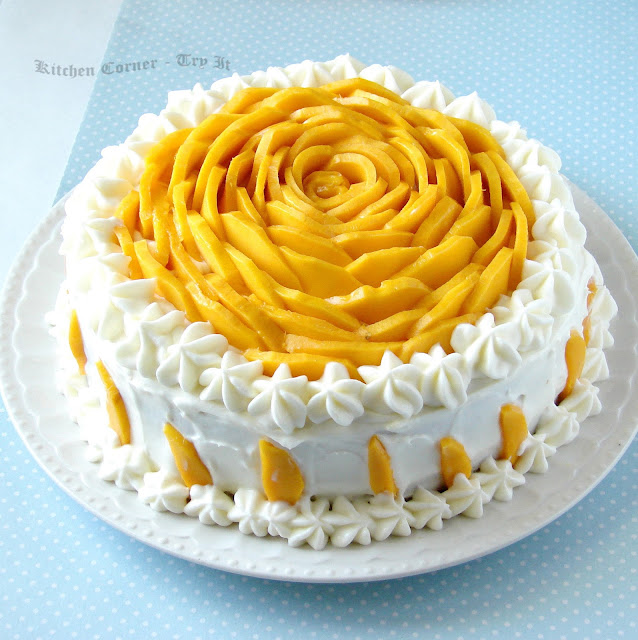 Mango Butter Cake Recipe Singapore