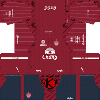 Buriram United 2019 Kit - Dream League Soccer Kits