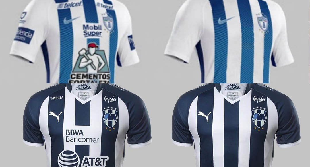 ... destroying otherwise beautiful jerseys. Following on the recent  releases of some new Liga MX 2017-18 kits with awfully many differently  colored sponsor ... f13855791