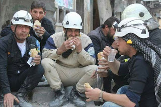 "the so-called ""White Helmets"" organization"