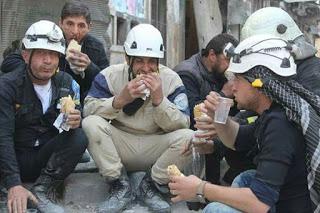 "the so-called ""White Helmets"" organization"
