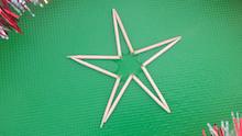 Percobaan Membuat Bintang dengan Tusuk Gigi
