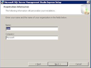 Cara Installasi SQL Server 2005 Management Studio