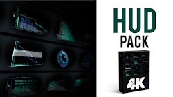 HUD Elements Pack 4K - After Effects Templates | Motionarray 211787 - Free download