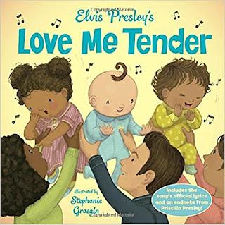 Steph, Liam, Bea's Book Nook, Review, Elvis Presley's Love me Tender,Stephanie Graegin