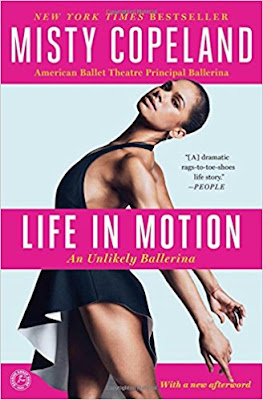 Life in Motion by Misty Copeland (book cover)