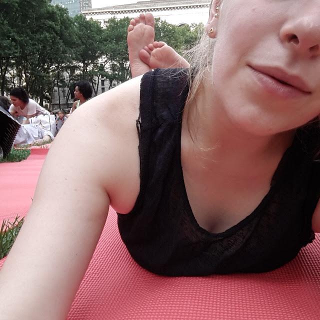 free yoga bryant park
