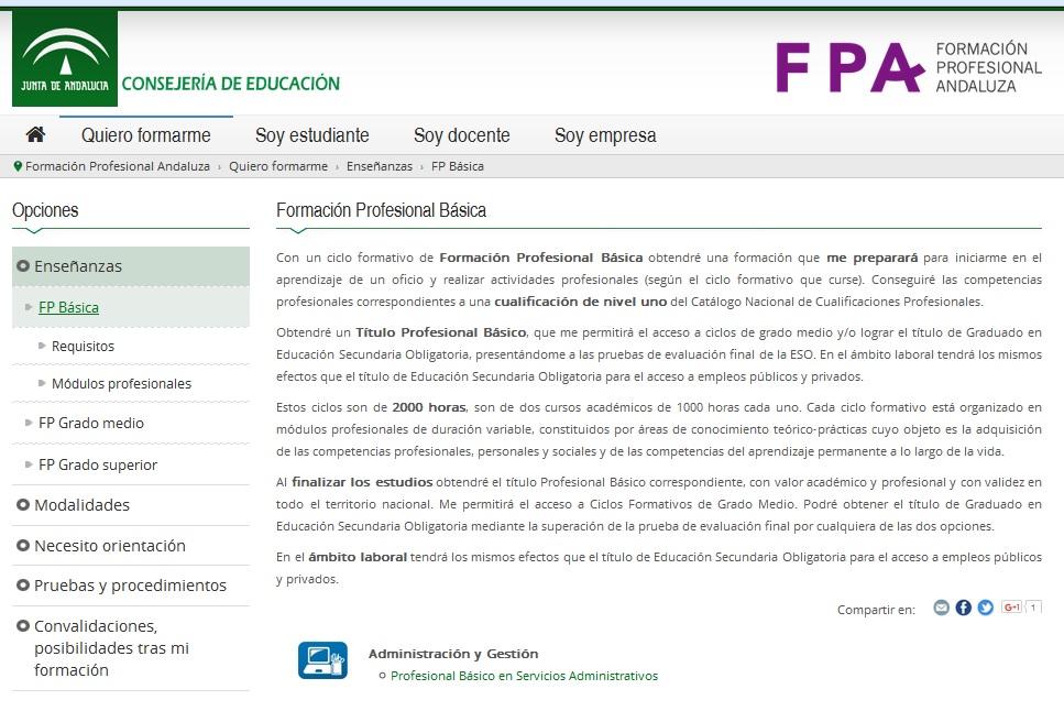 Orientacion Alfonso Xi Formación Profesional