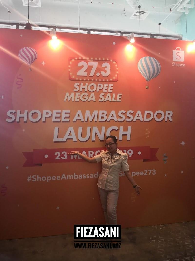 Auch..Jadi Shopee Ambassador kah?
