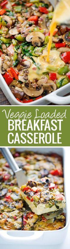Veggie Loaded Breakfast Casserole Recipe
