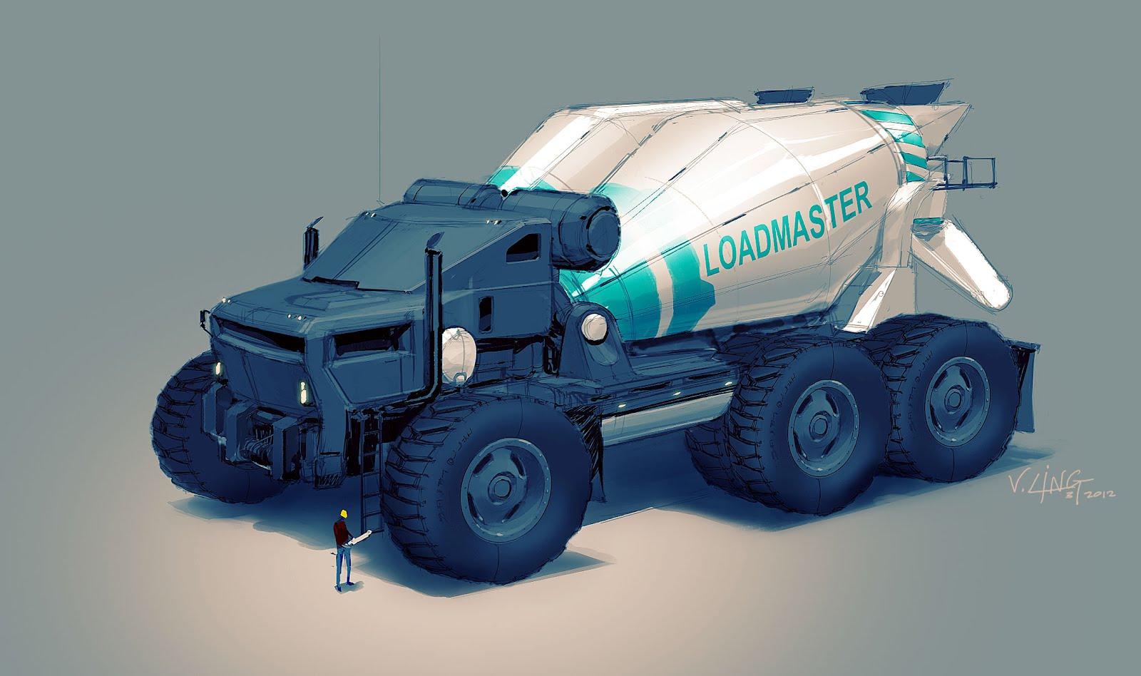 V Ling: truk