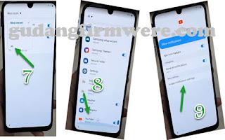 FRP google account Samsung Galaxy A70 Without PC