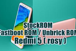 Redmi 5 Rosy Miui 8 Fastboot Rom