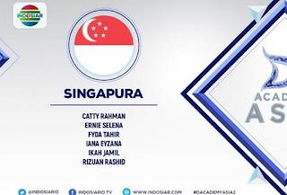 Wakil peserta Dangsut Academy Asia 2 asal Singapura