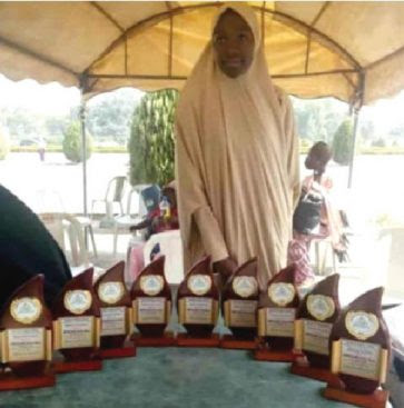 Brilliant Young Lady Emerges Best Graduating Student With 9 Awards (Photo)