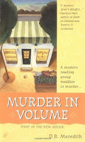 murder in volume by dr meredith