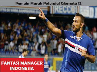 pemain murah potensial giornata 12 liga fantasia serie a fantasi manager indonesia