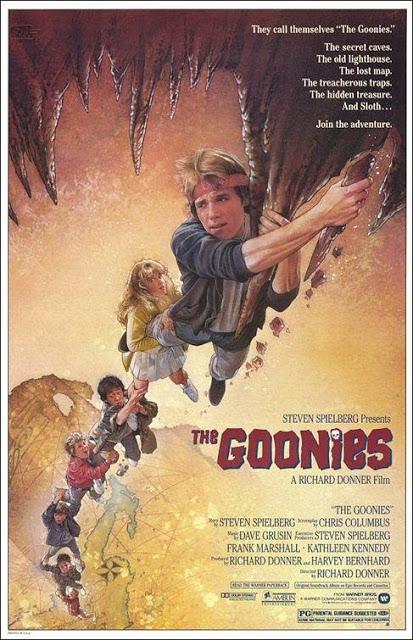Póster original película Los Goonies