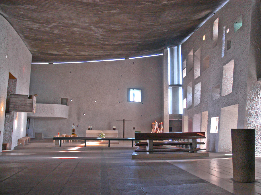 iglesia notre dame de ronchamp arquiscopio archiv. Black Bedroom Furniture Sets. Home Design Ideas