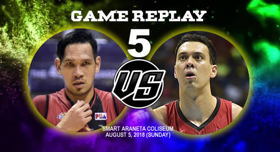 Video Playlist: SMB vs Ginebra Game 5 replay August 5, 2018 PBA Commissioner's Cup