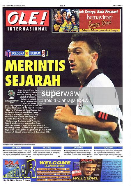 OLE! INTERNASIONAL: MERINTIS SEJARAH