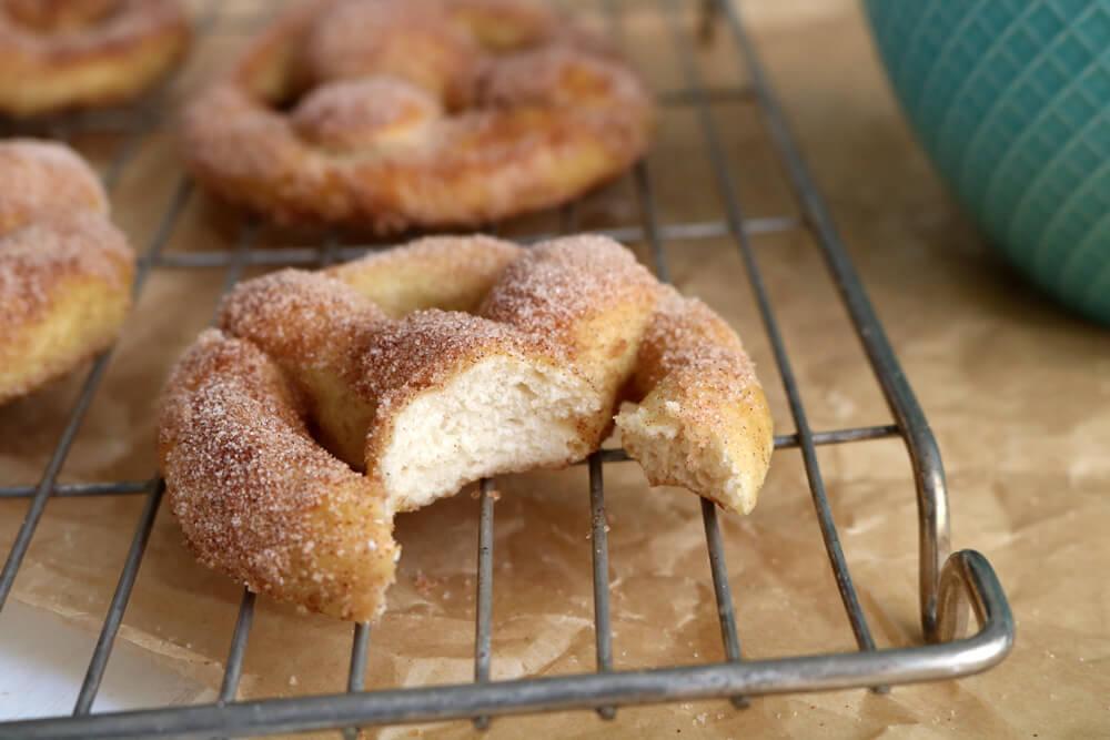 Soft Cinnamon Pretzels | Hungry Little Bear