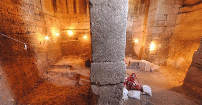 Βρέθηκε αρχαία δεξαμενή κάτω από αχυρώνα