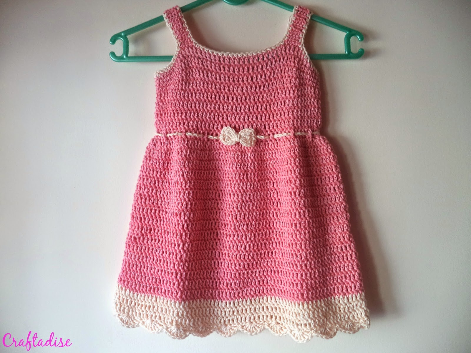 Free Crochet Pattern Summer Dress : Made In Craftadise Top Art & Crafts, Home Decor blog in ...
