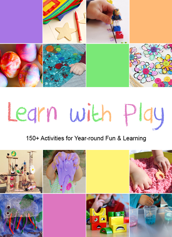 kids activity book learn with play