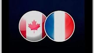 Канада – Франция смотреть онлайн бесплатно 16 мая 2019 прямая трансляция в 17:15 МСК.