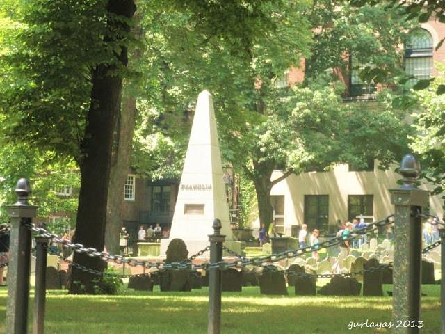 Benjamin Franklin monolith by gurlayas.blogspot.com