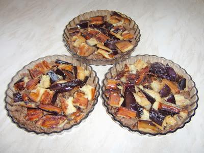 طبق مقبلات كراتان بادنجان و اللحم المفروم