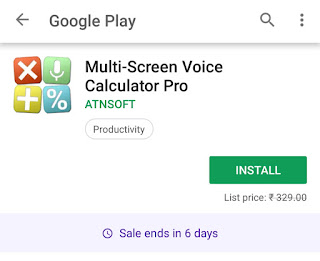 Download Multi-screen calculator with voice input paid android app