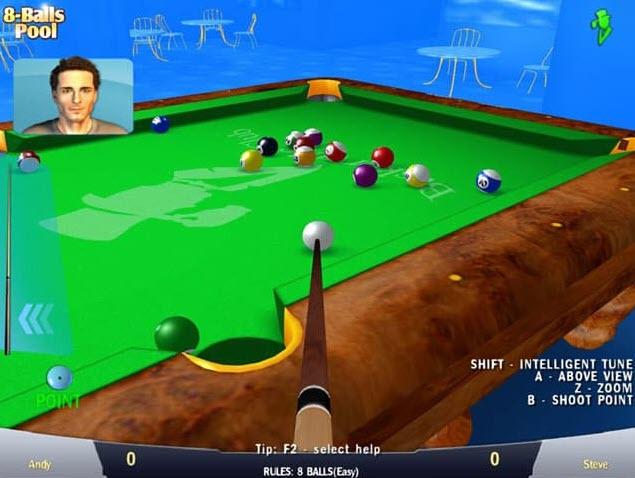 تنزيل لعبة 8 ball للحاسوب