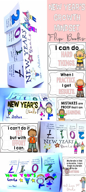 https://www.teacherspayteachers.com/Product/New-Years-Growth-Mindset-Flip-Books-2931925