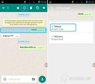 Melihat Pesan WhatsApp Sudah Dibaca Atau Belum 2