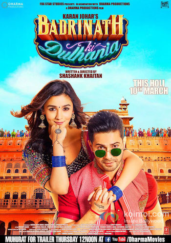 Badrinath Ki Dulhania 2017 Official Trailer 720p HD Download