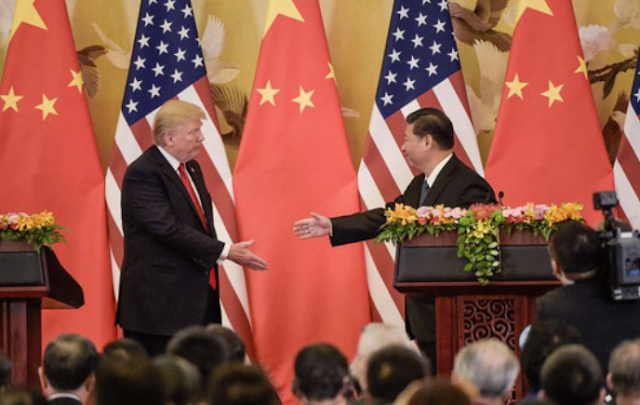 The rising tensions between China, US