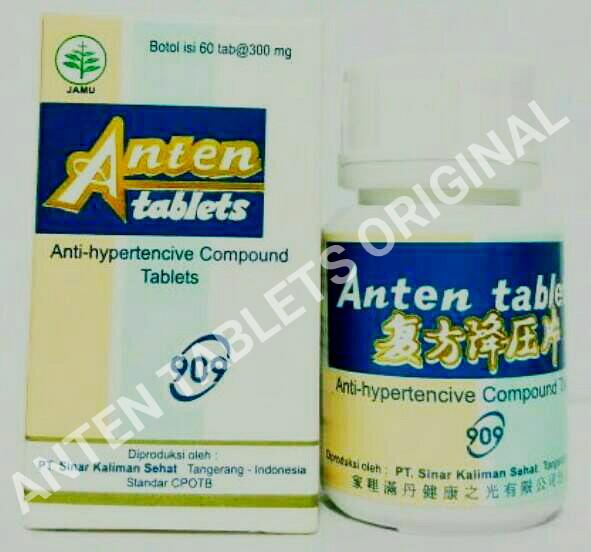 Jual anten tablets ancom obat darah tinggi herbal cina di surabaya