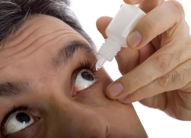 Use Of The Right Eye Drops