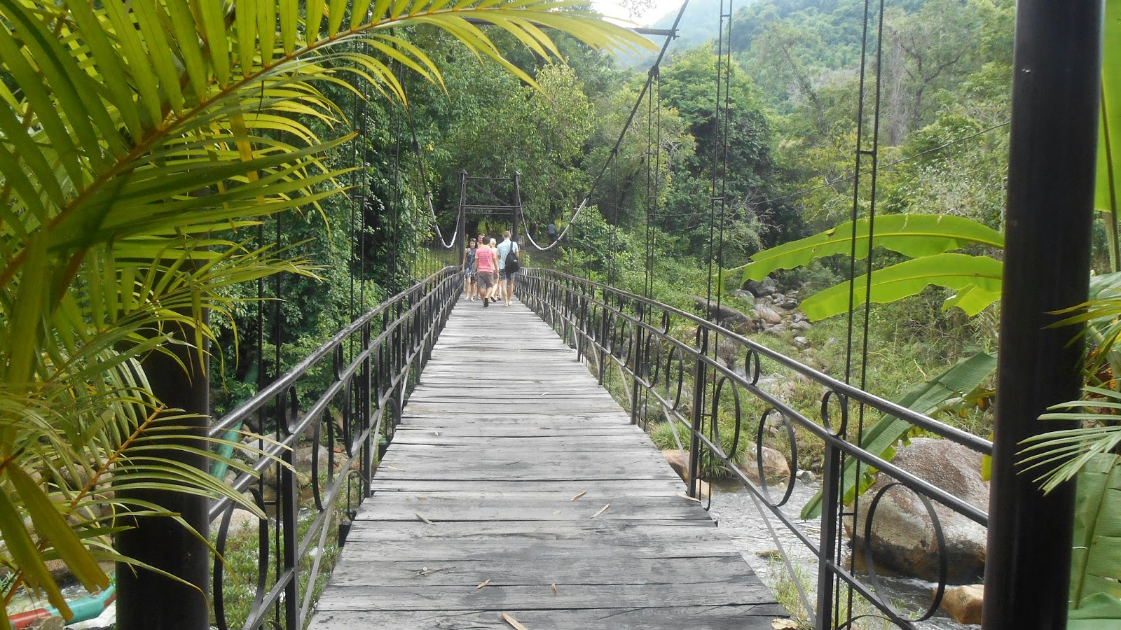 мостик через речку