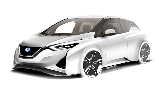 Next-gen Nissan Leaf aims for 340-mile range