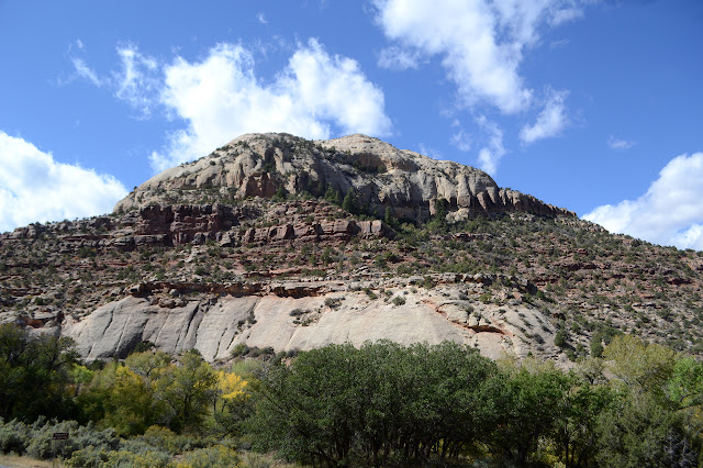 somewhat taller bit of rock