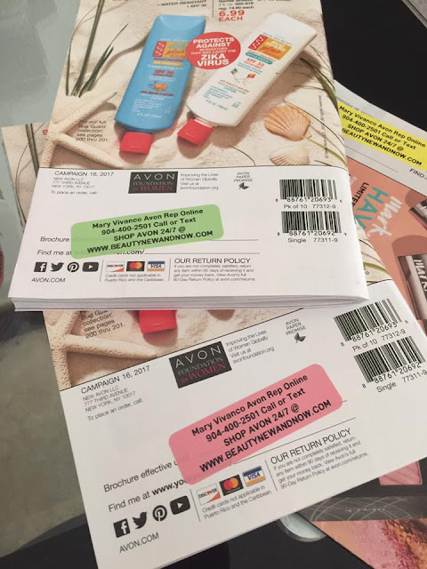 Labels For Your AVON Brochure's
