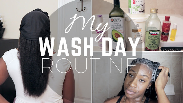 Wash Day Routine On My Relaxed Hair | HairliciousInc.com